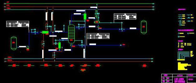 苯-氯苯浮阀精馏塔设计任务书图片