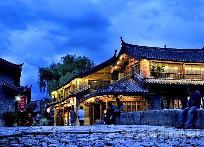 束河古镇附近的景点