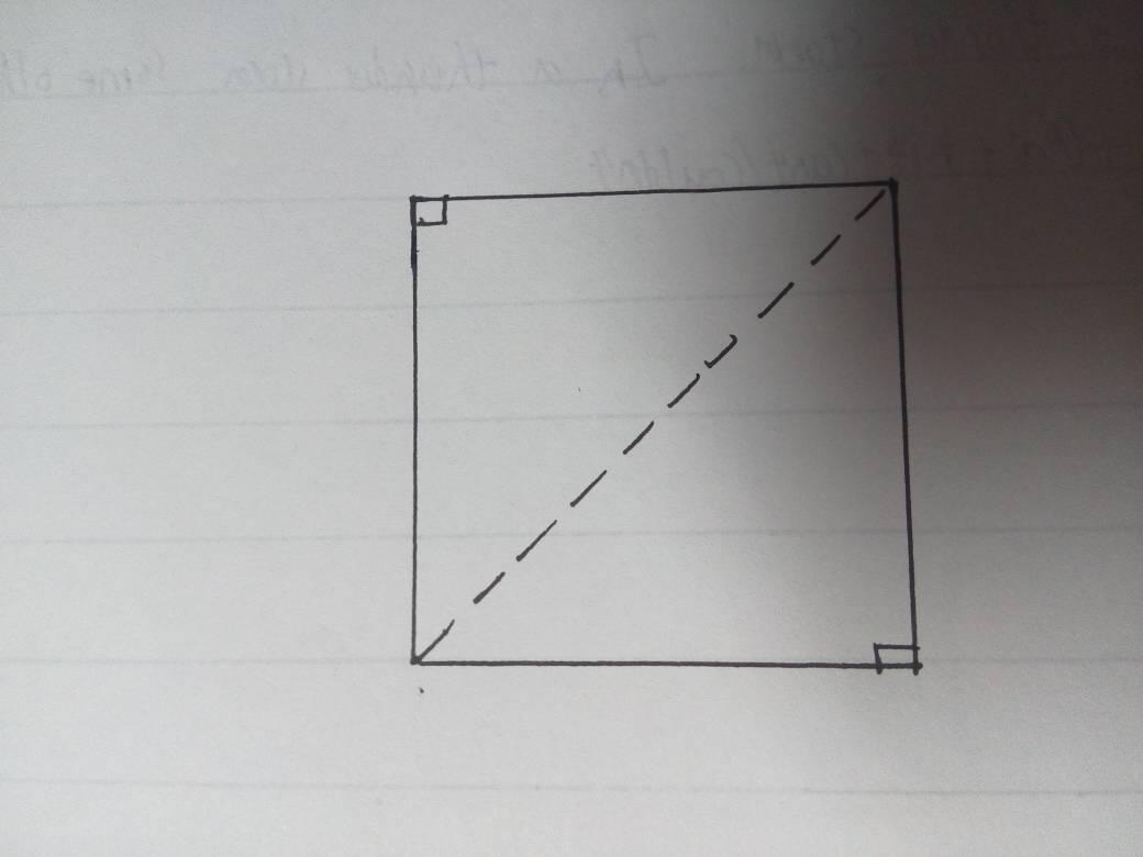 长度为1米的正方形,它的对角线长度是不是数轴上的一个实心点?图片
