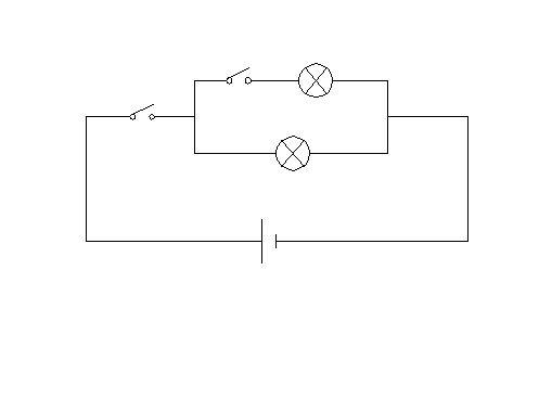 初二物理~~~根据电路图画出实物图和根据实物图画出电路图都很简单啊图片