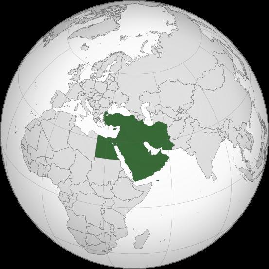 中东非指的是哪些国家