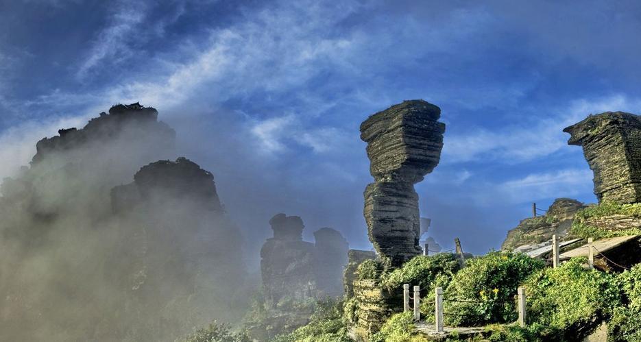 贵州梵净山海拔多少米