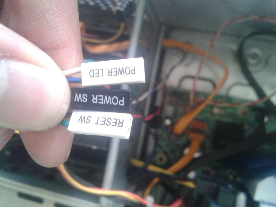求助 联想启天M7160的主板跳线怎么接啊 有图图片