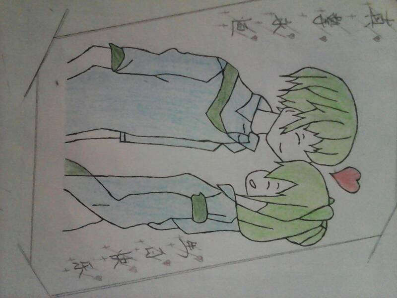 我画了一幅画图片