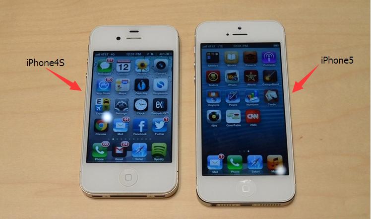 iphone4s和iphone4的区别_苹果iphone 5和苹果iphone 4s有什么区别啊!