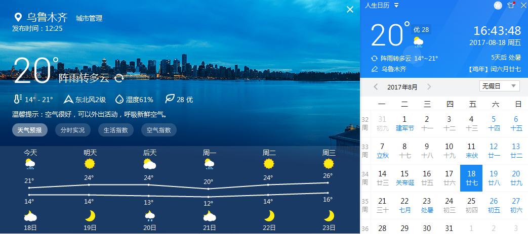新疆九月底中下旬天气