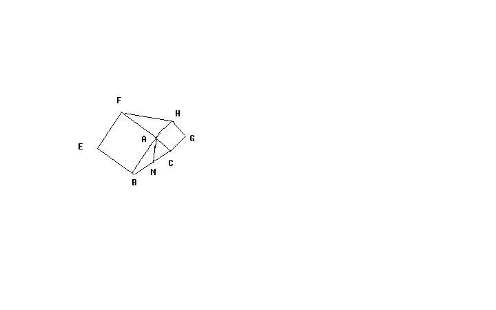 两个正方形三角形图片