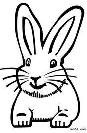 兔子 简笔画 ,要图片 不要太复杂,像大耳朵图图电视.图片