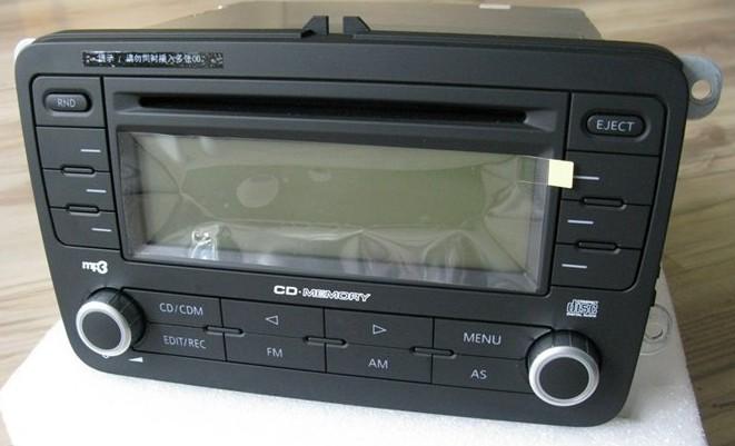 大众迈腾车载CD如何改装家用高清图片