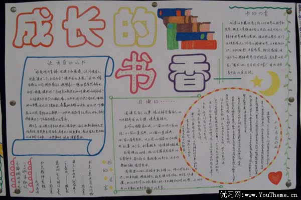 关于读书主题的手抄报应该怎么做?