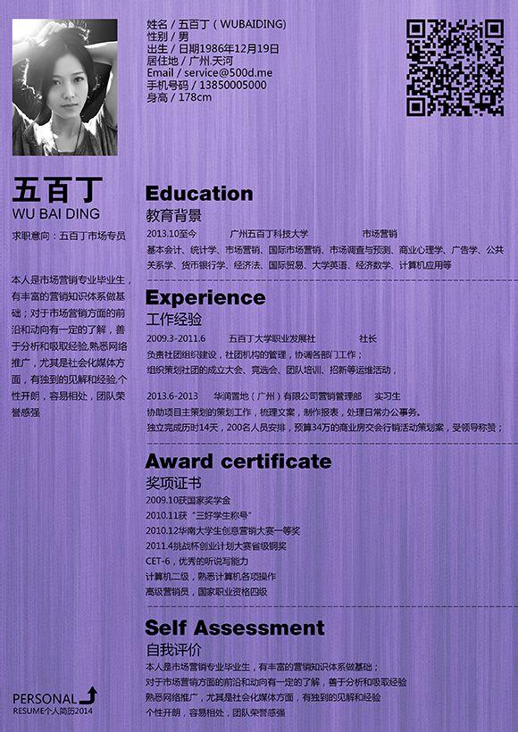 简历大全-计算机it简历-电子商务简历-互联网产品经理产品助理求职图片