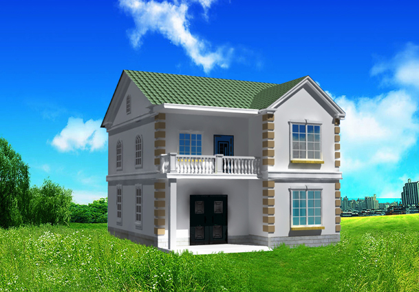 人建房设计图 自建房8x10米设计图 9x12自建房设计图 20万农村建房图片