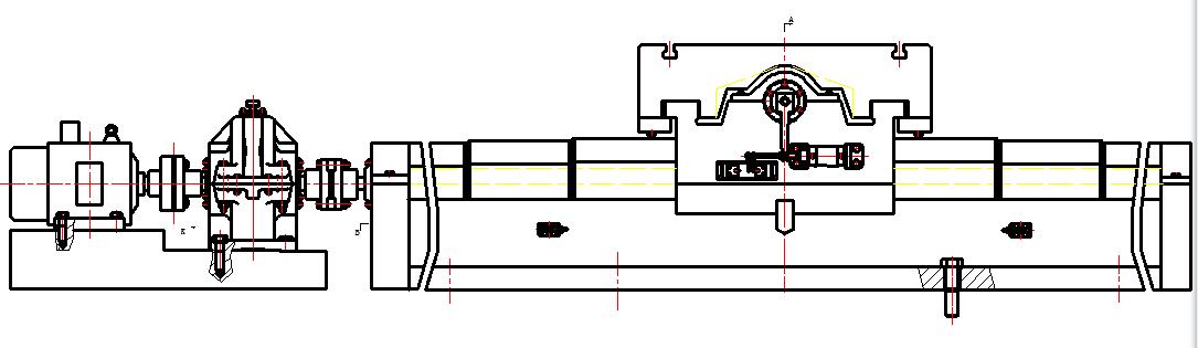 plc控制变频电机和气缸的运动图片