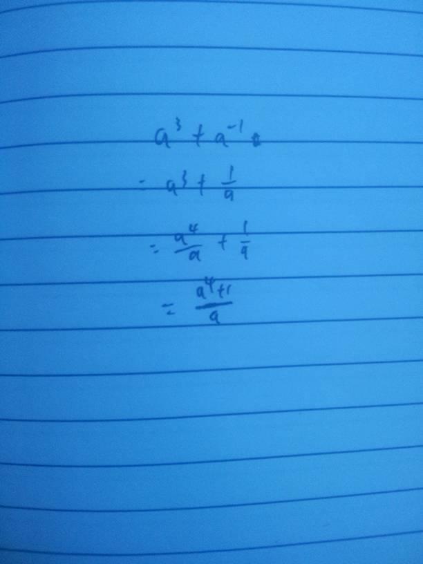 a的三次方加1