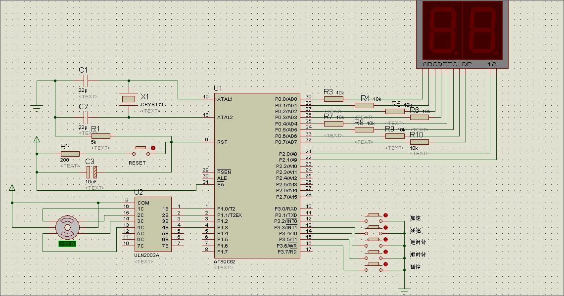 建筑施工电路囹�)�c_用at89c52 单片机pwm实现12个led灯亮度调节.