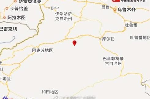 新疆库车县