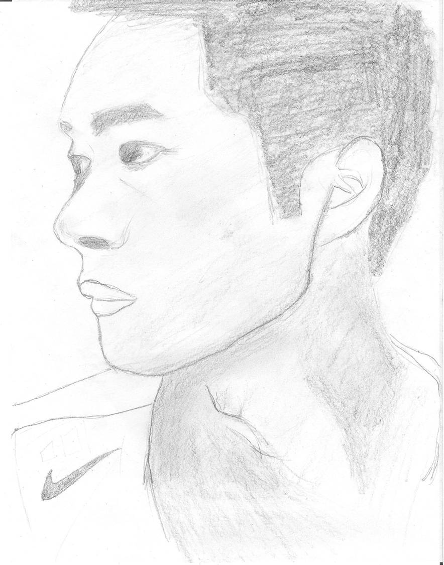 石膏头像素描画鼻子图片