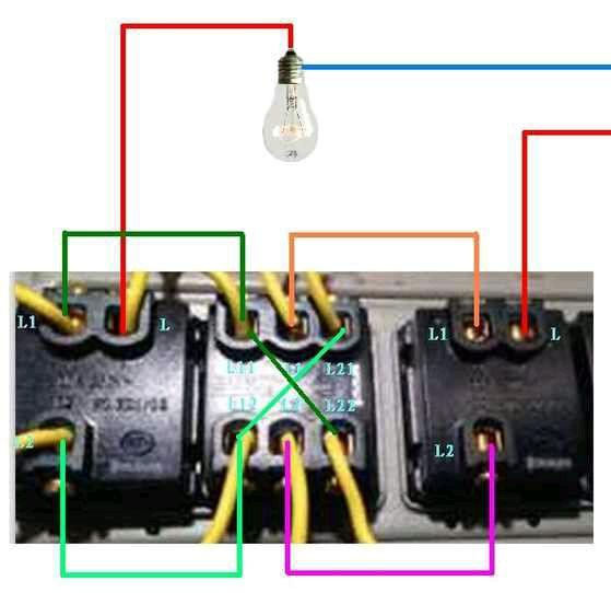 3控开关怎么布线,双控的我懂,就是3个开关控制一个灯怎么布线图片