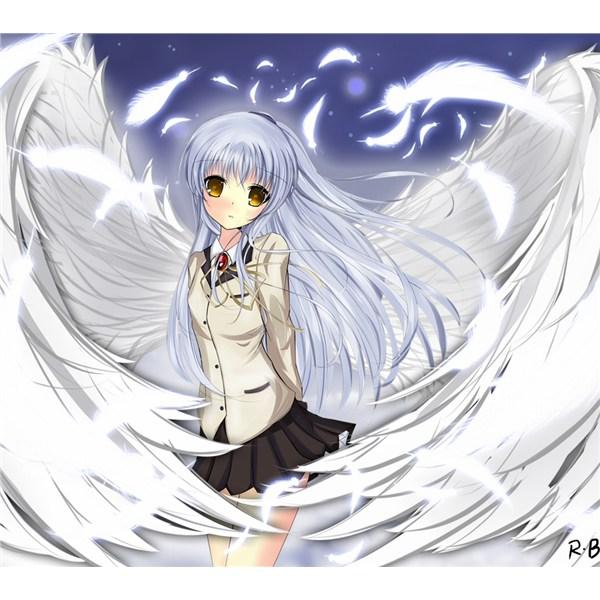 求一张女天使图