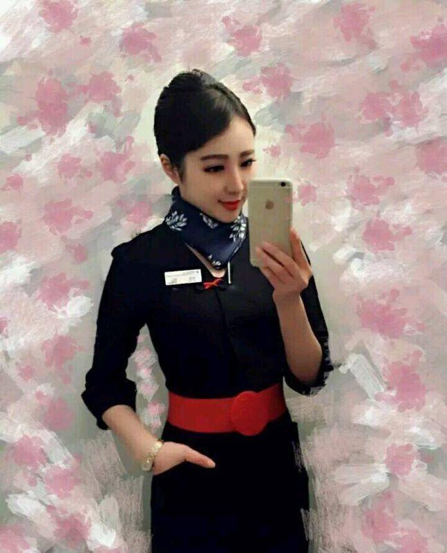 请谁帮帮我榆林飞北京东方航空的班机空姐又没有叫李波儿的,我是她