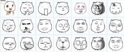 谁有猥琐猫表情包图片