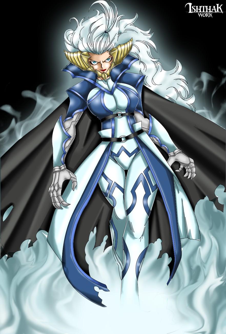 现在妖精的尾巴里的米拉杰最厉害的全身接受是什么 ...