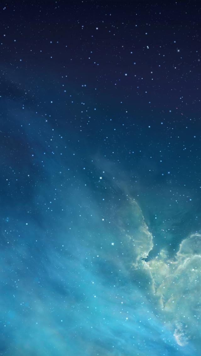 求iphone5s的星空壁纸