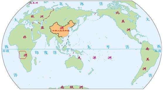 中国在世界地图的位置图片大全下载; 想知道: 中国 非洲安哥拉国家图片