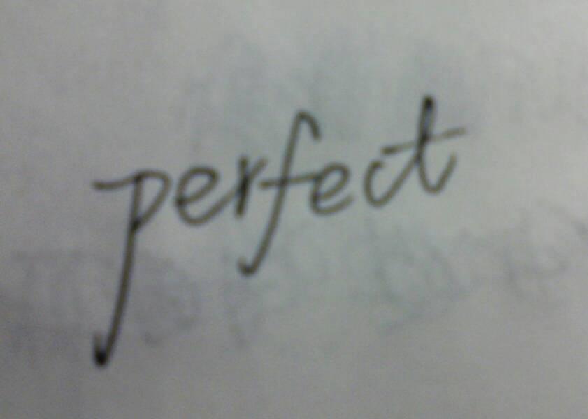 完美的英语怎么写_百度知道图片