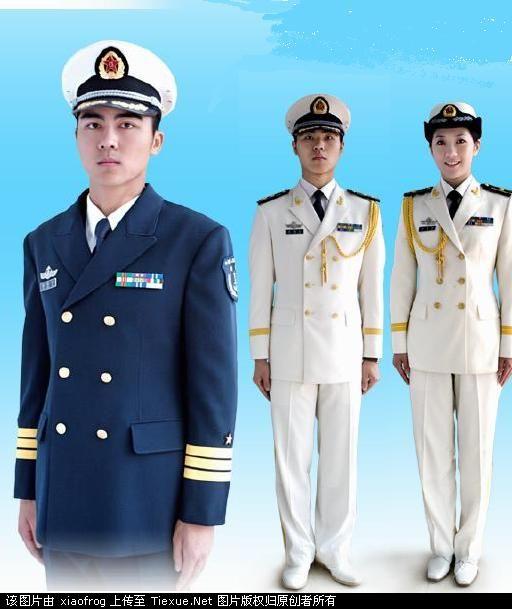 海军军官常服图片