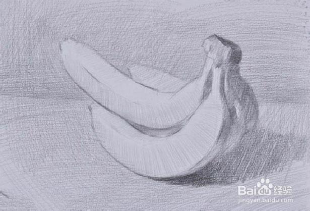 香蕉画法解析图 - 素描香蕉画法-美女香蕉 香蕉卡通画 香蕉tv免费频图片