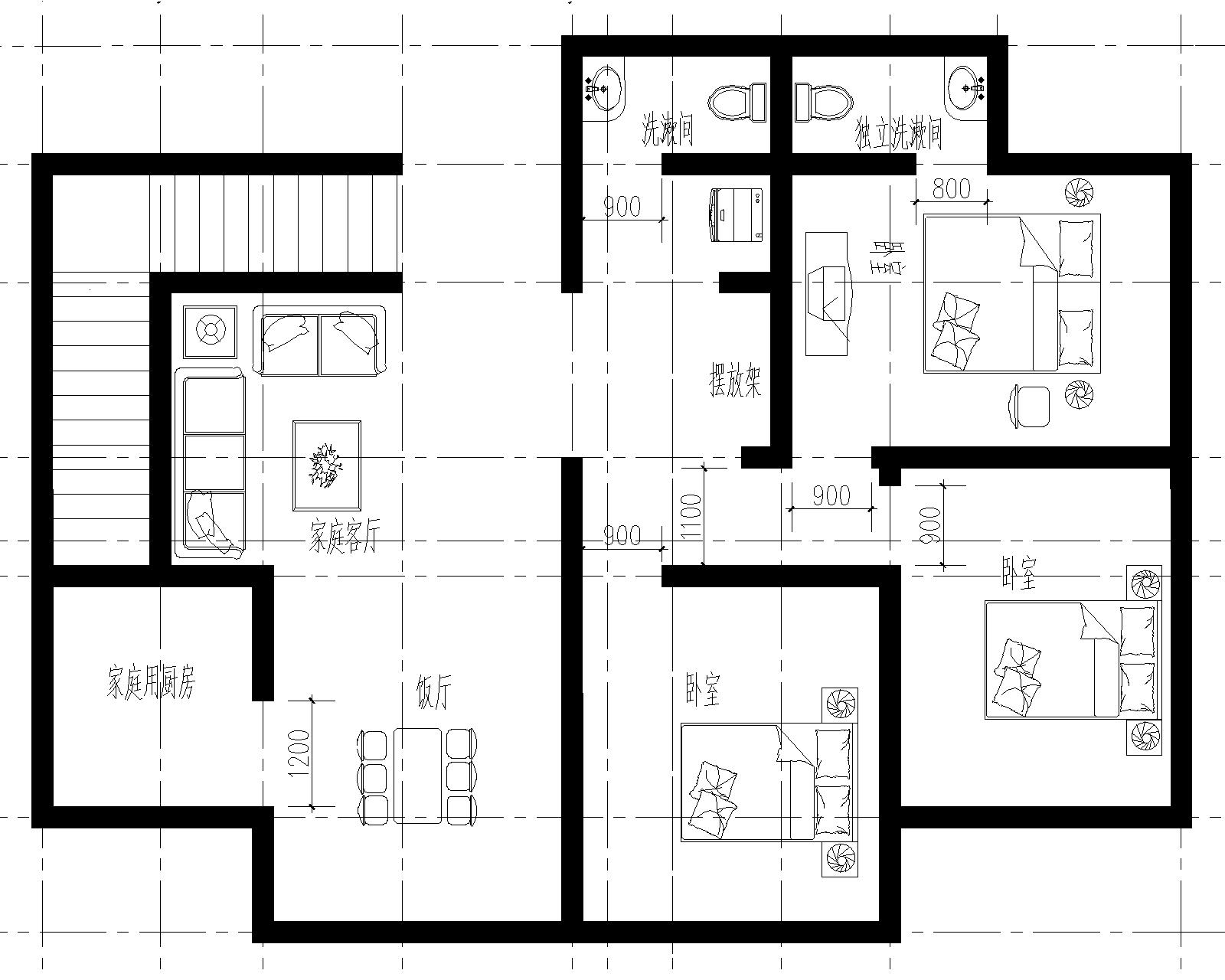 农村三层楼房设计图图片
