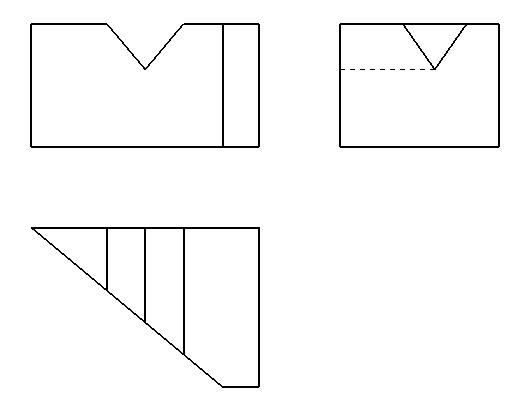 画法几何切割
