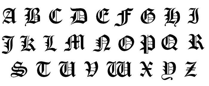 求黑执事-----万花哥特式中文字体下载