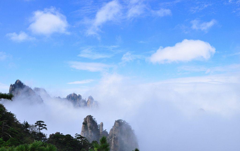 黄山风景区云海
