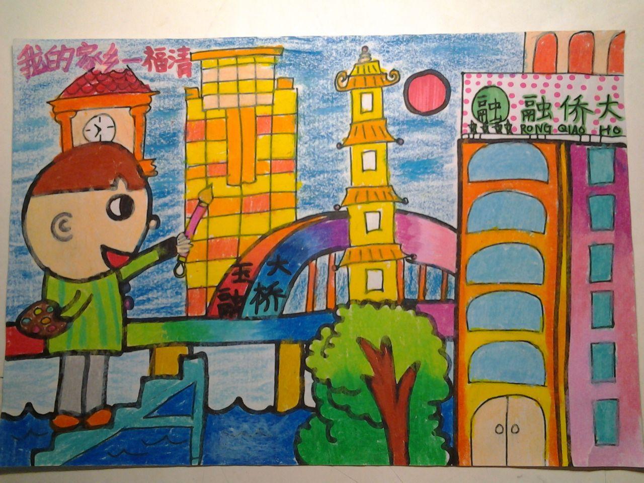 水彩颜料,油画棒,本人也是学画画的,大多数用这两种图片