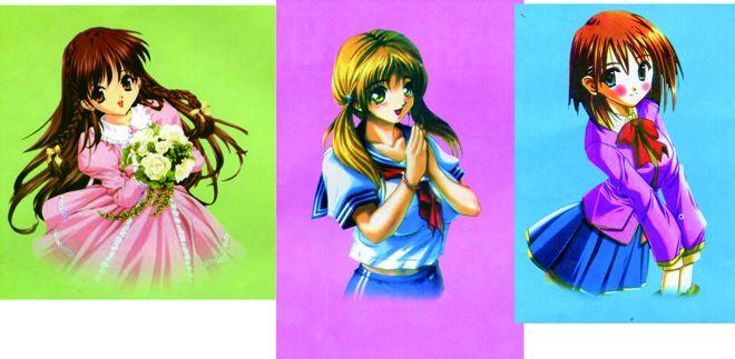 各位看一下这几张漫画美女是那个动画片里的