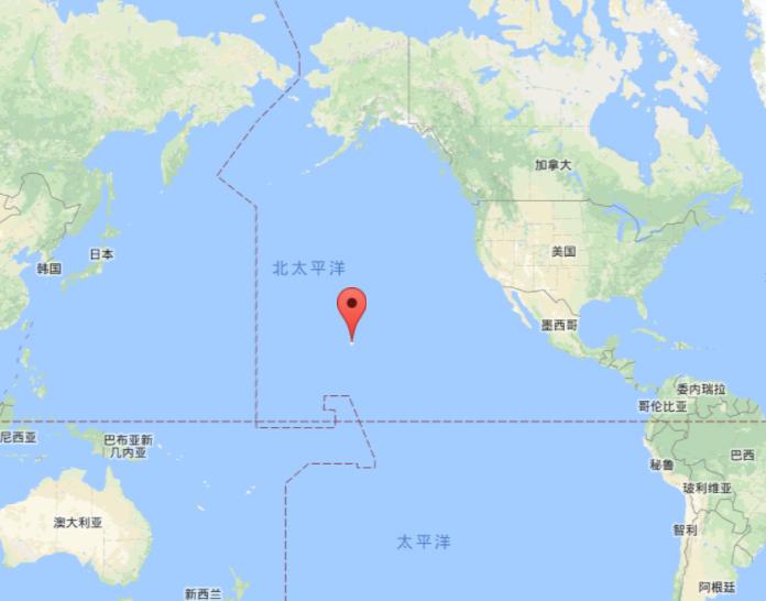 大西洋被几个州围绕