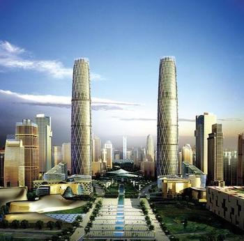 广州珠江新城景点