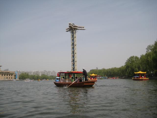 北京青龙峡蹦极多高