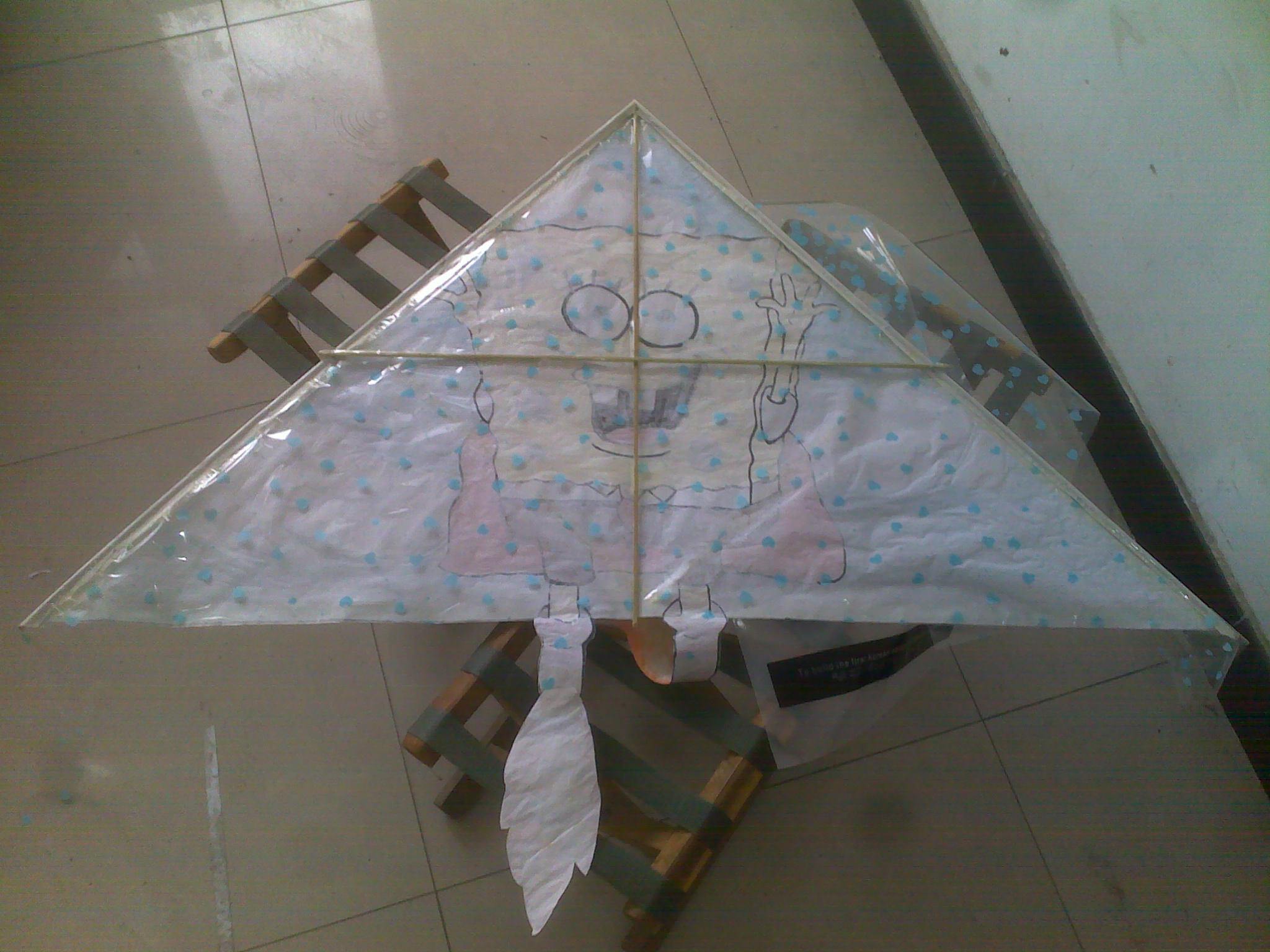 三角形风筝如何绑线请说明详细谢谢