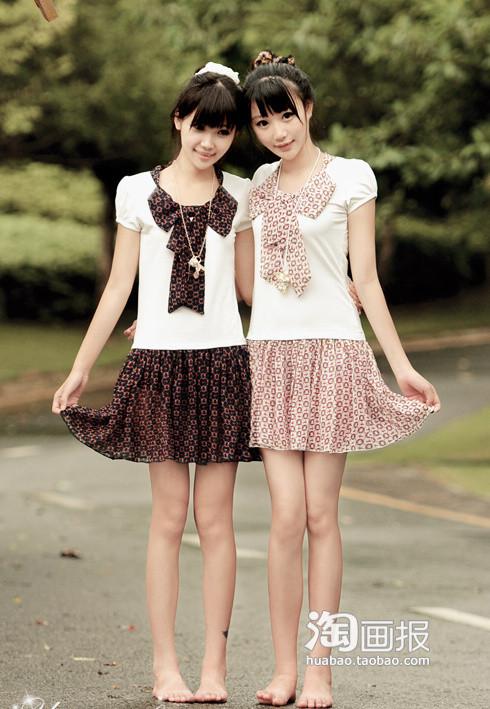 多几张双胞胎美女图