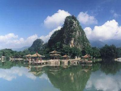 鼎湖山风景