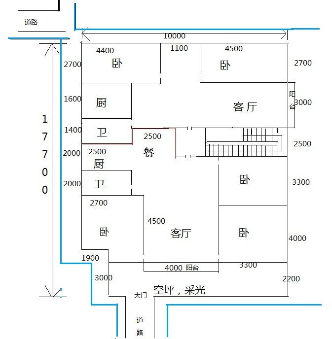 房屋平面设计图图片