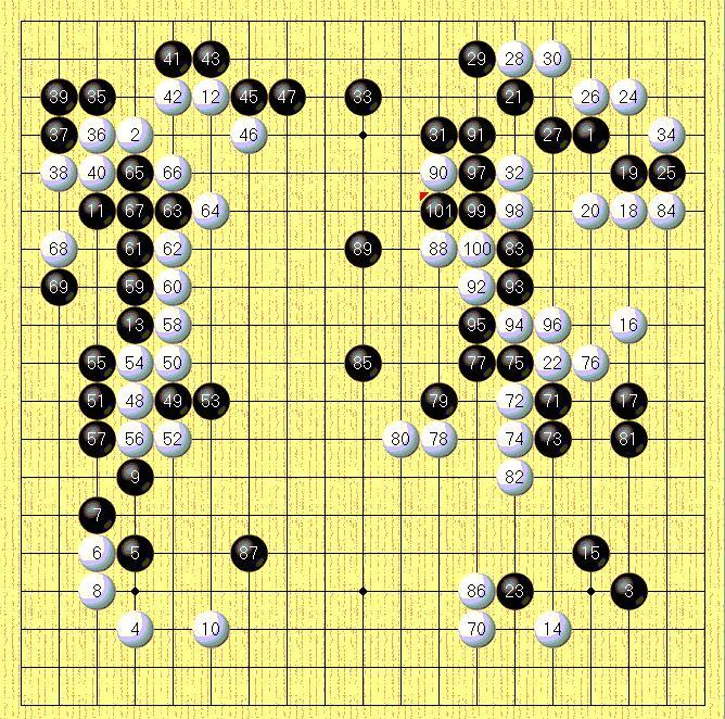 关于围棋棋谱的一些事情图片