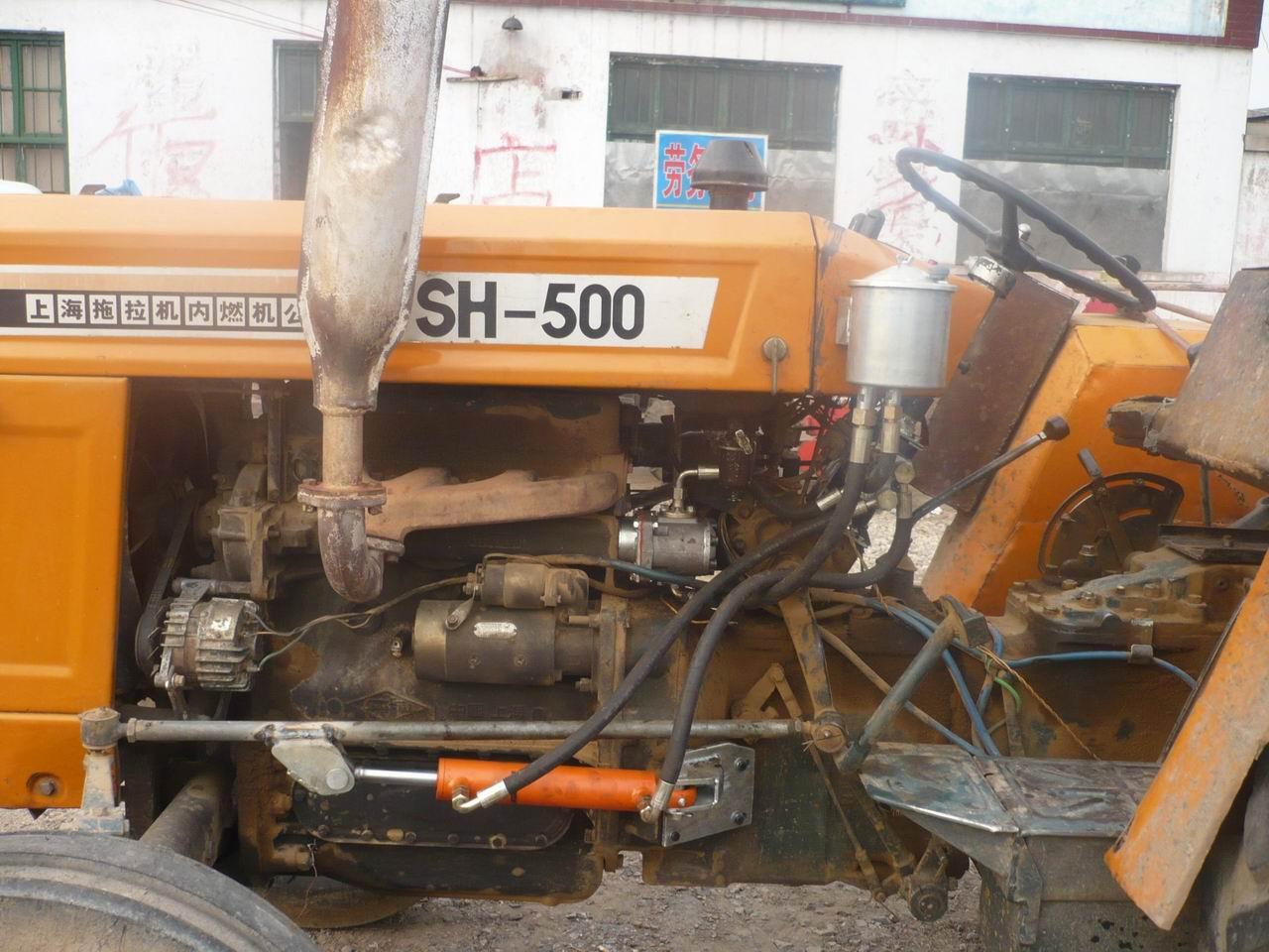 找上海50拖拉机改成液压(助力)方向的图片图片