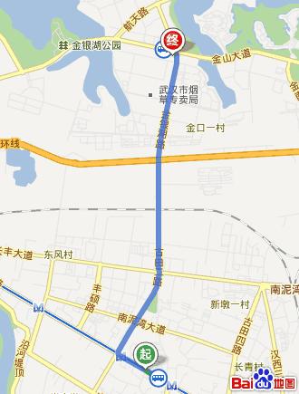 想知道: 武汉市硚口区辛家地站到武汉纽宾凯金银湖国际酒店怎么坐公交图片