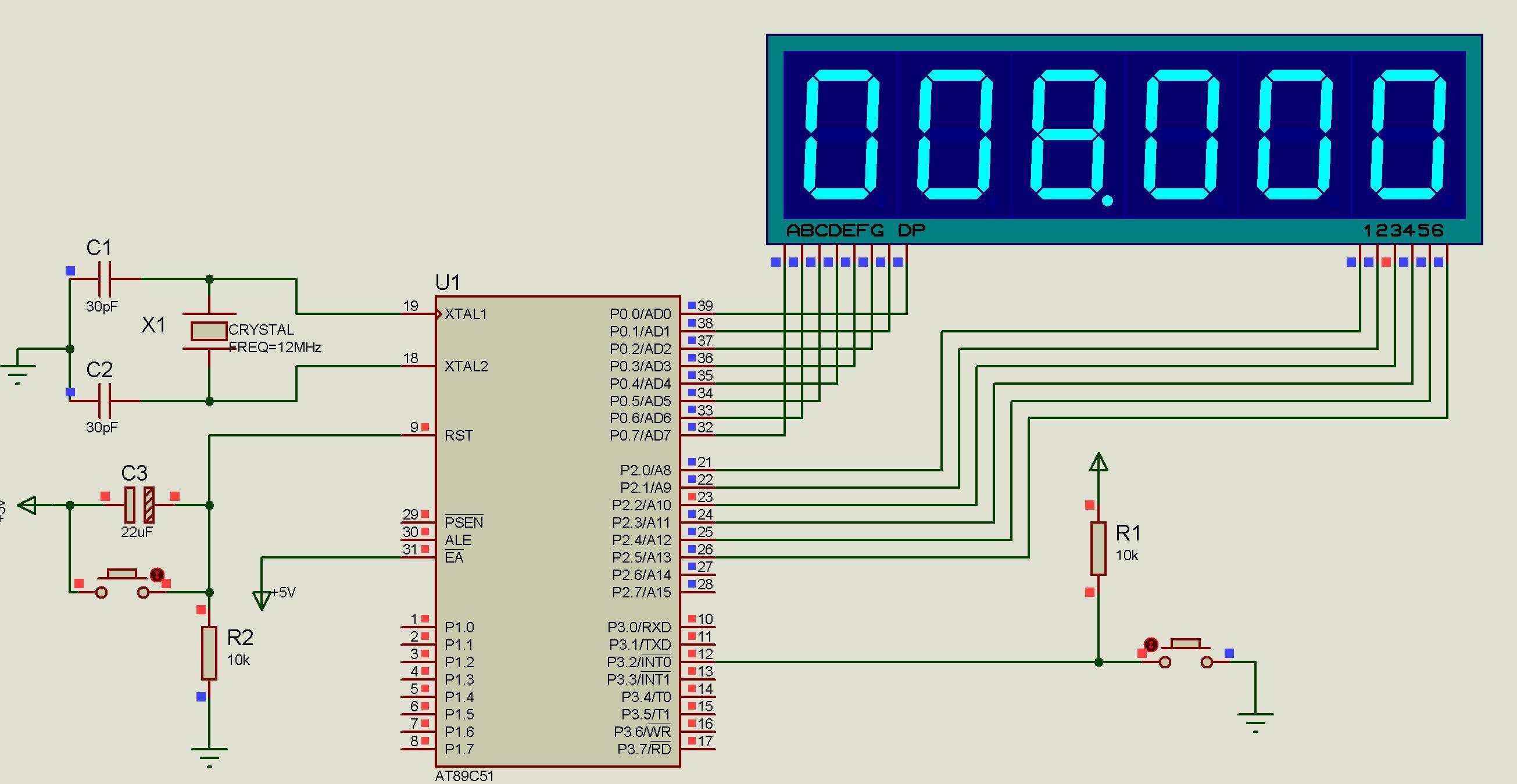 led数码管秒表的制作图片