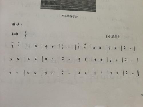 2011-05-25 古筝曲谱指法问题 8 2011-08-28 求古筝小星星的简谱谱子图片