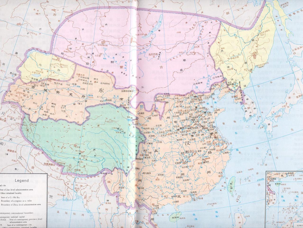 东汉末年 东汉末年之霸者天下 东汉末年地图